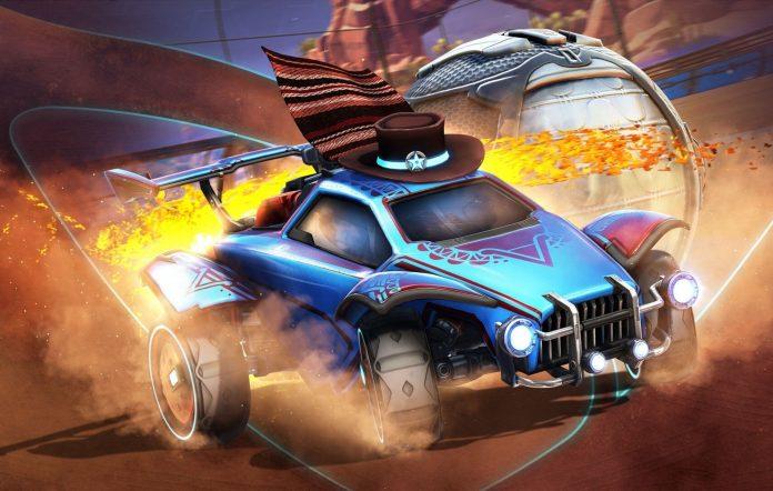 Rocket League Season 4 Cowboy Car The Outlaw