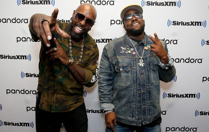 Sleepy Brown (left) and Big Boi (right). Credit- Dominik Bindl/Getty Images