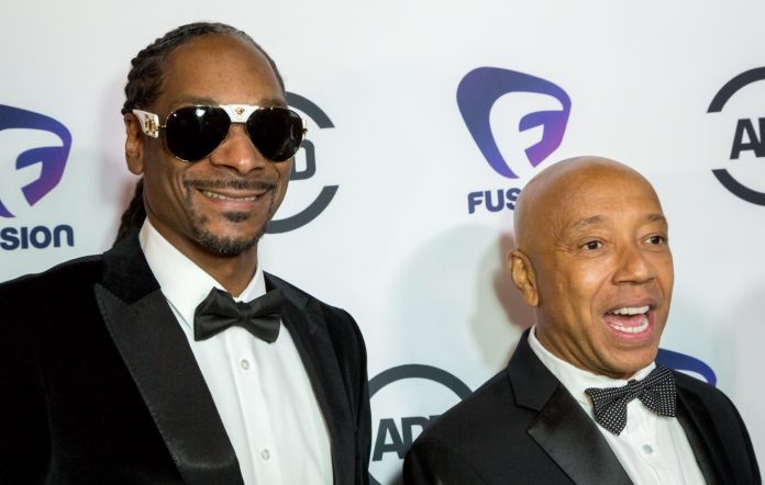 Snoop Dogg and Russell Simmons