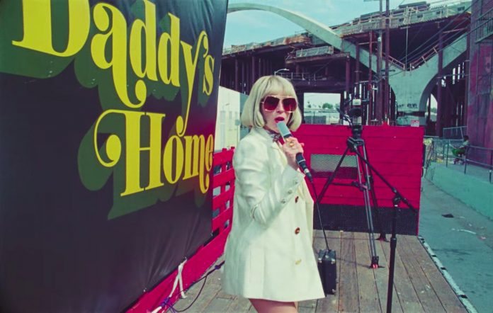 St. Vincent in the 'Daddy's Home' music video