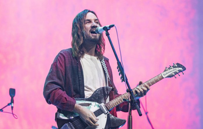 Tame Impala's Kevin Parker performs in San Diego