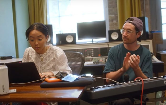 Watch Griff and Bastille link up to cover Glass Animals' 'Heat Waves'