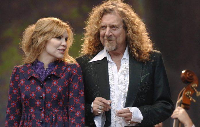 Alison Krauss and Robert Plant