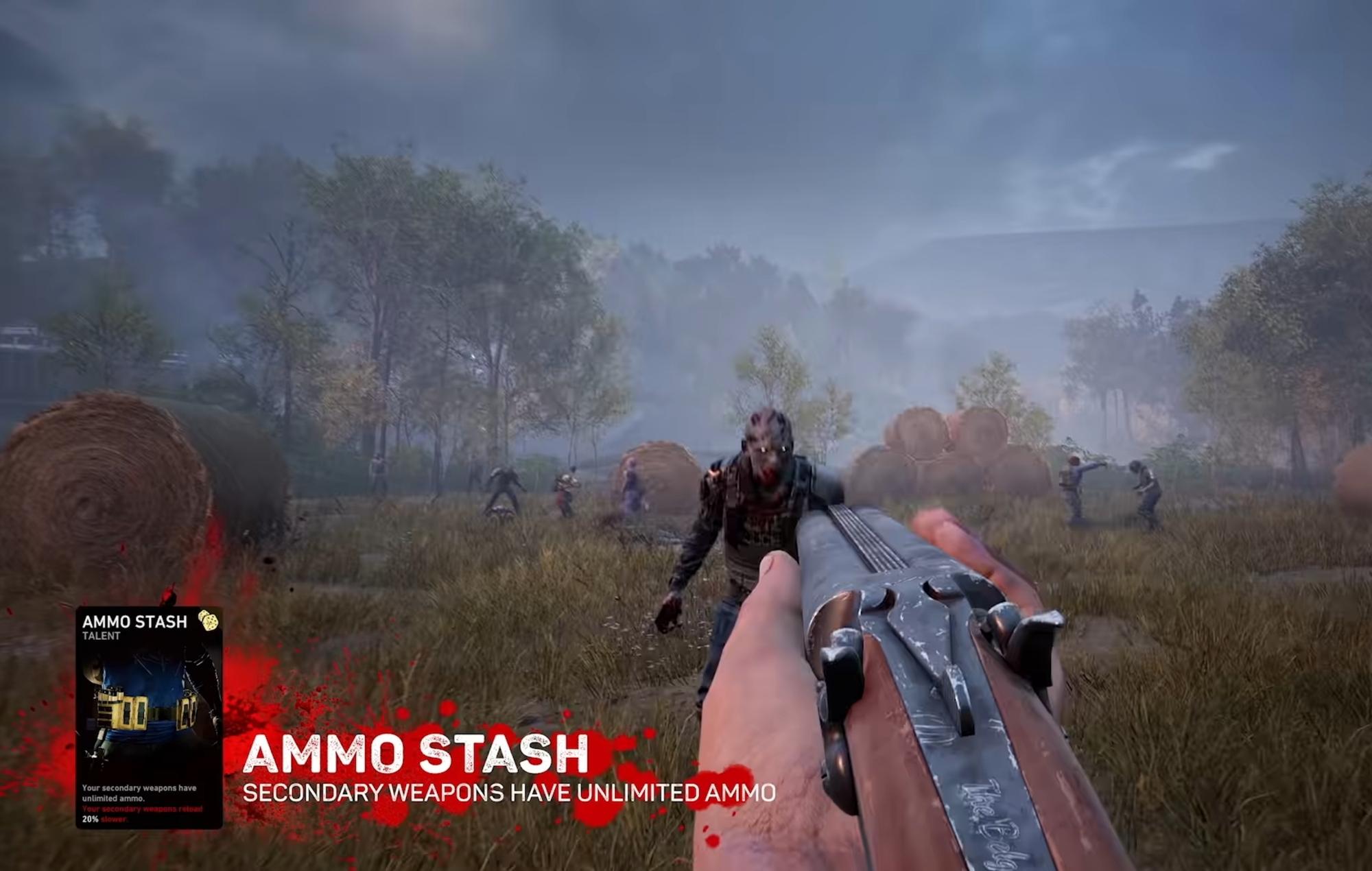 Back 4 Blood ammo stash