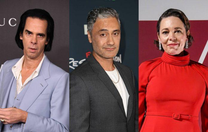 Nick Cave, Taika Waititi, Olivia Colman