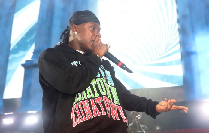 dababy calls out cry babies at hot 97 first performance rolling loud