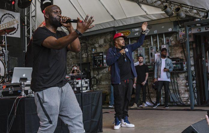 De La Soul performing in 2017