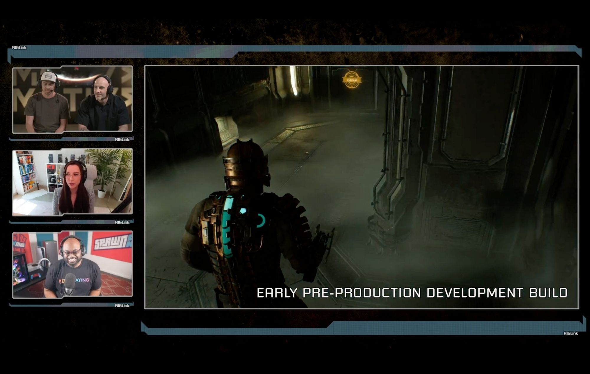 Dead Space remake early gameplay footage