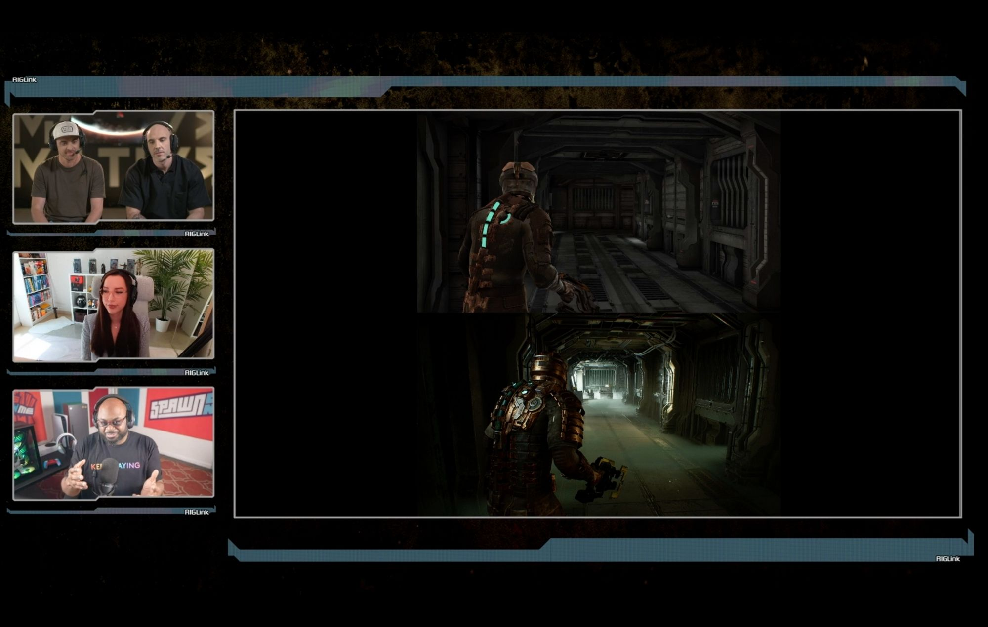 dead space gameplay comparison