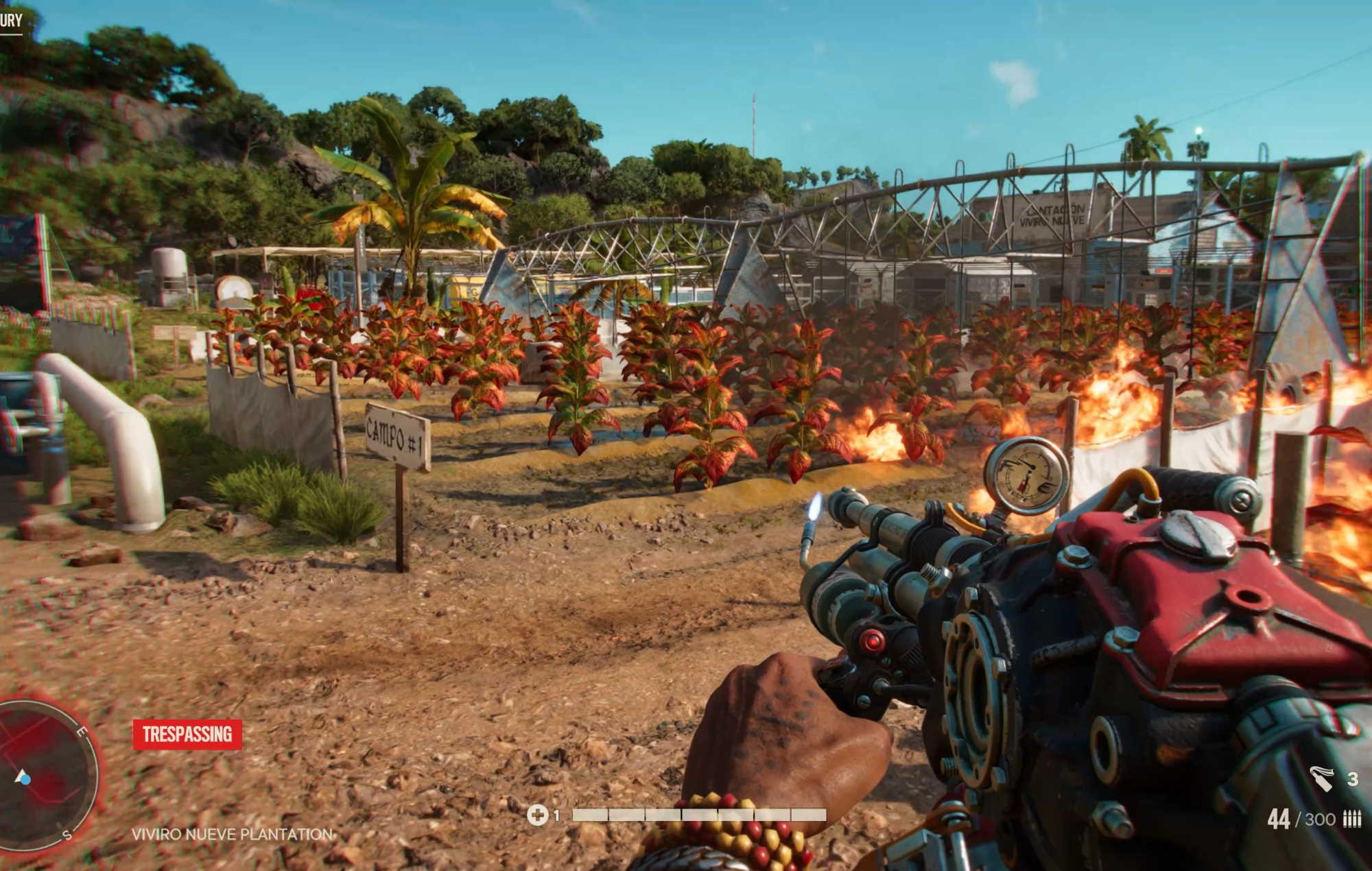 Far Cry 6: Flamethrower