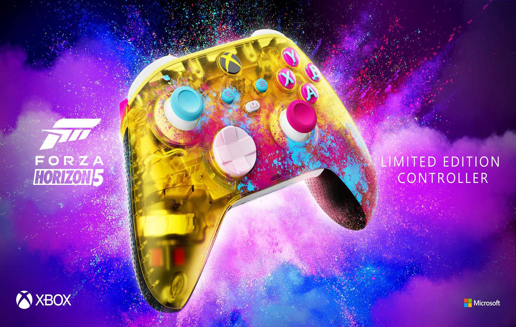 Forza Horizon 5 controller. Image credit: Microsoft