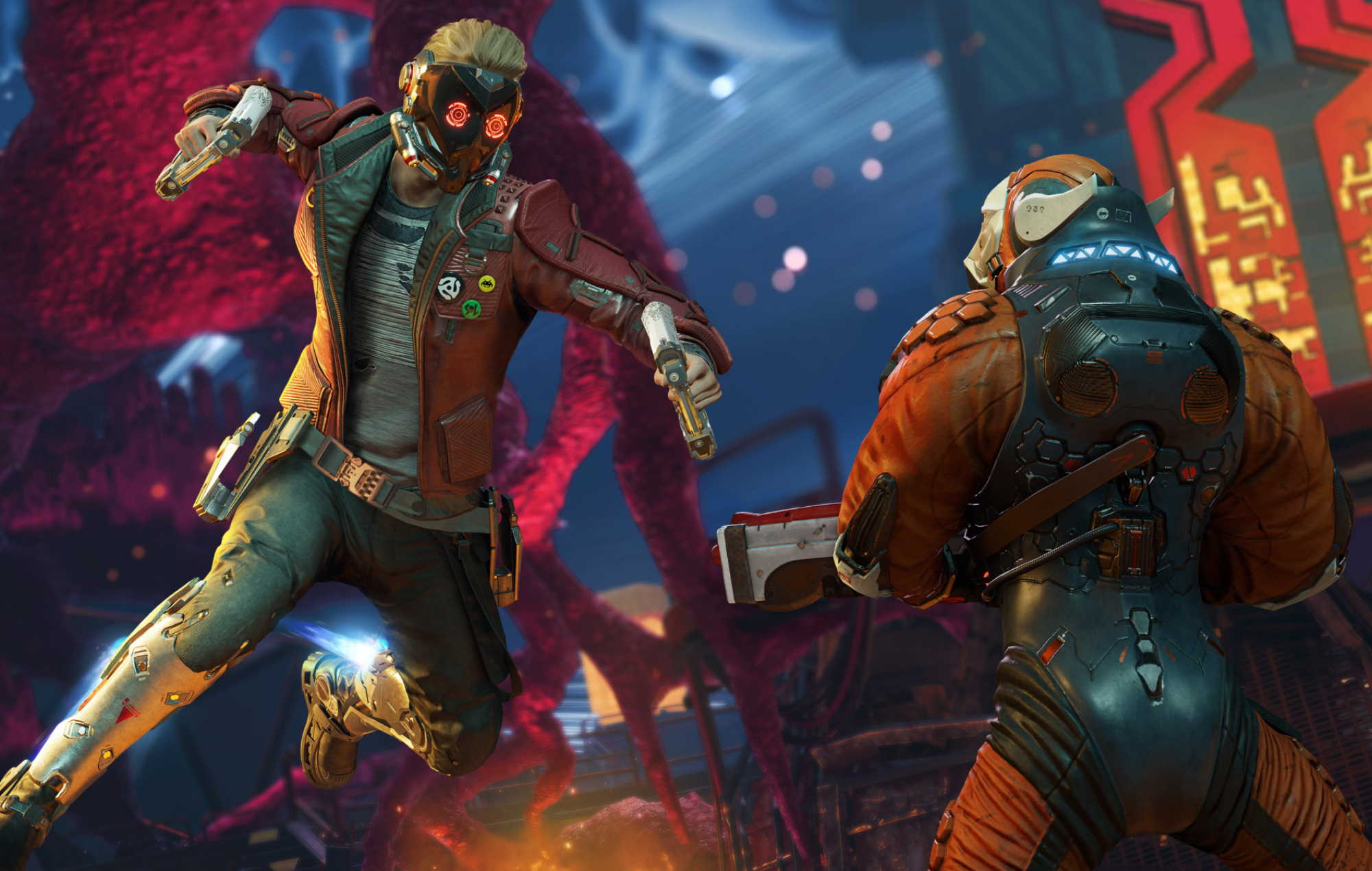 Marvel's Guardians Of The Galaxy Combat
