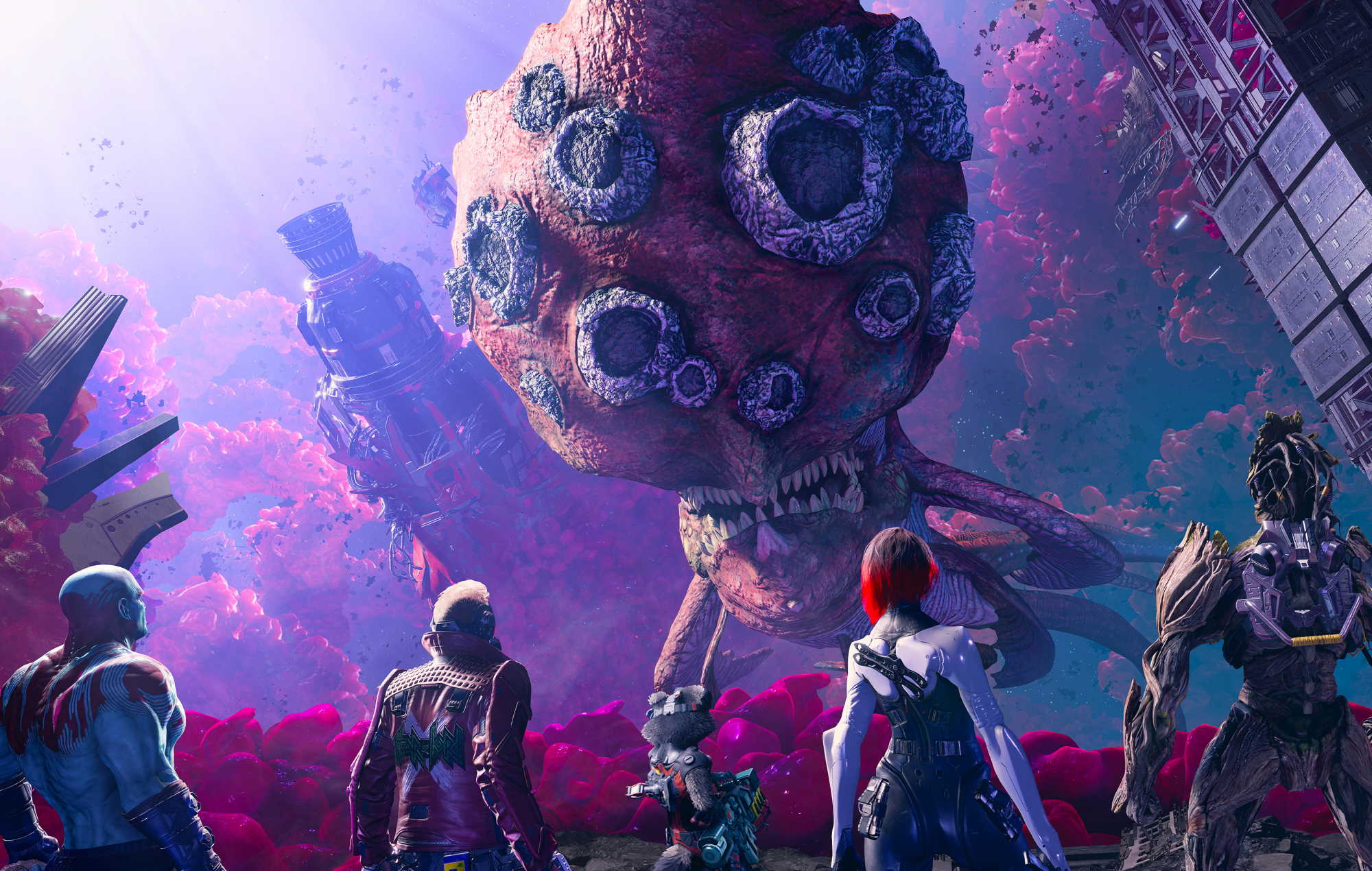 Marvel's Guardians Of The Galaxy alien enemy
