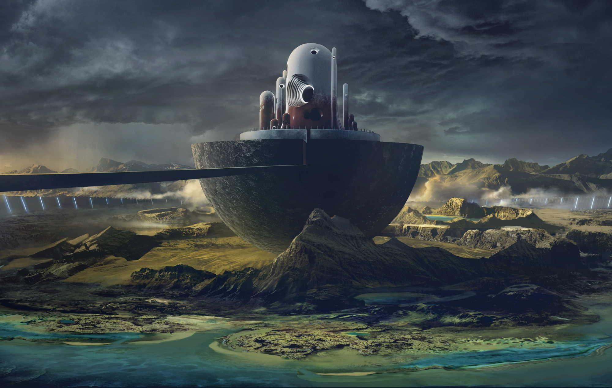 Marvel's Guardians Of The Galaxy Environmental Art