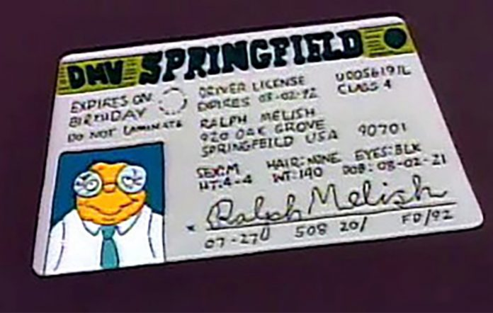 The Simpsons Hans Moleman