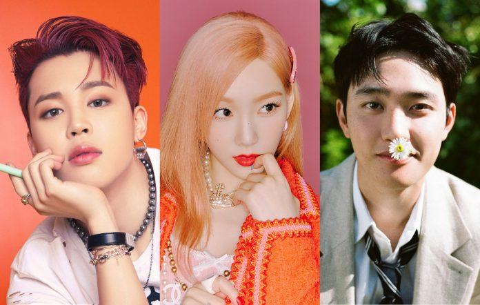 k-pop songs july 2021 bts taeyeon exo d.o.