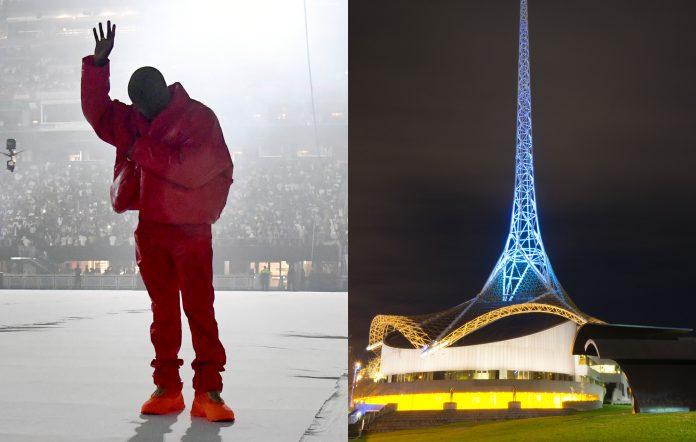 Kanye West Donda Super Room global public livestream events Australia locations Arts Centre Melbourne Adelaide Botanic Gardens