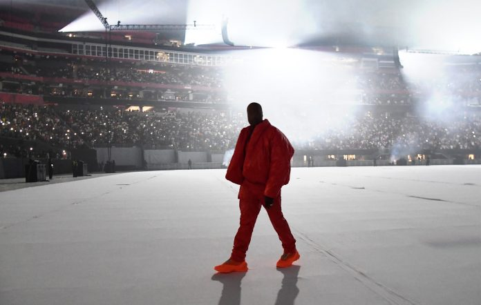 Kanye West second Donda playback event livestream The Weeknd Kid Cudi
