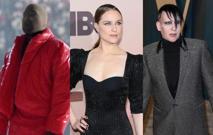 Kanye West Evan Rachel Wood Marilyn Manson