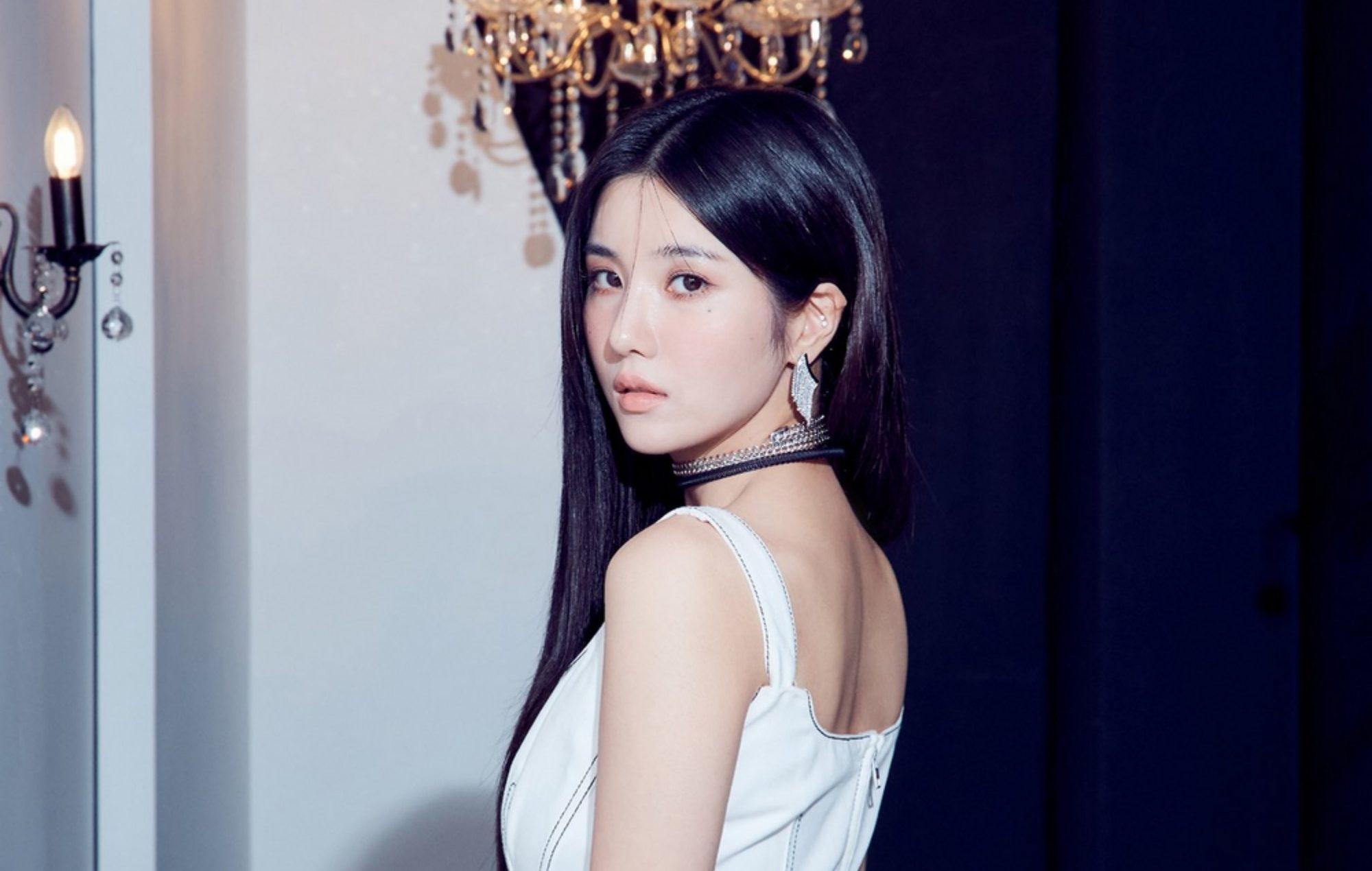 kwon eun-bi iz*one woollim entertainment solo debut open