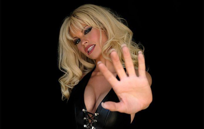 Pamela Anderson Lily James