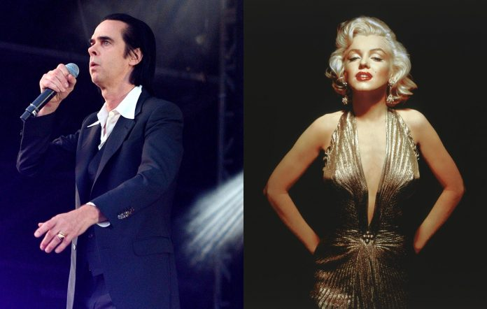 Nick Cave and Marilyn Monroe