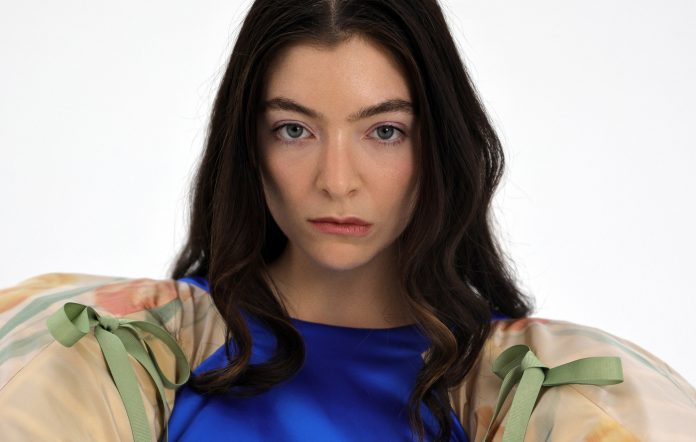 Lorde NME Australia August Cover