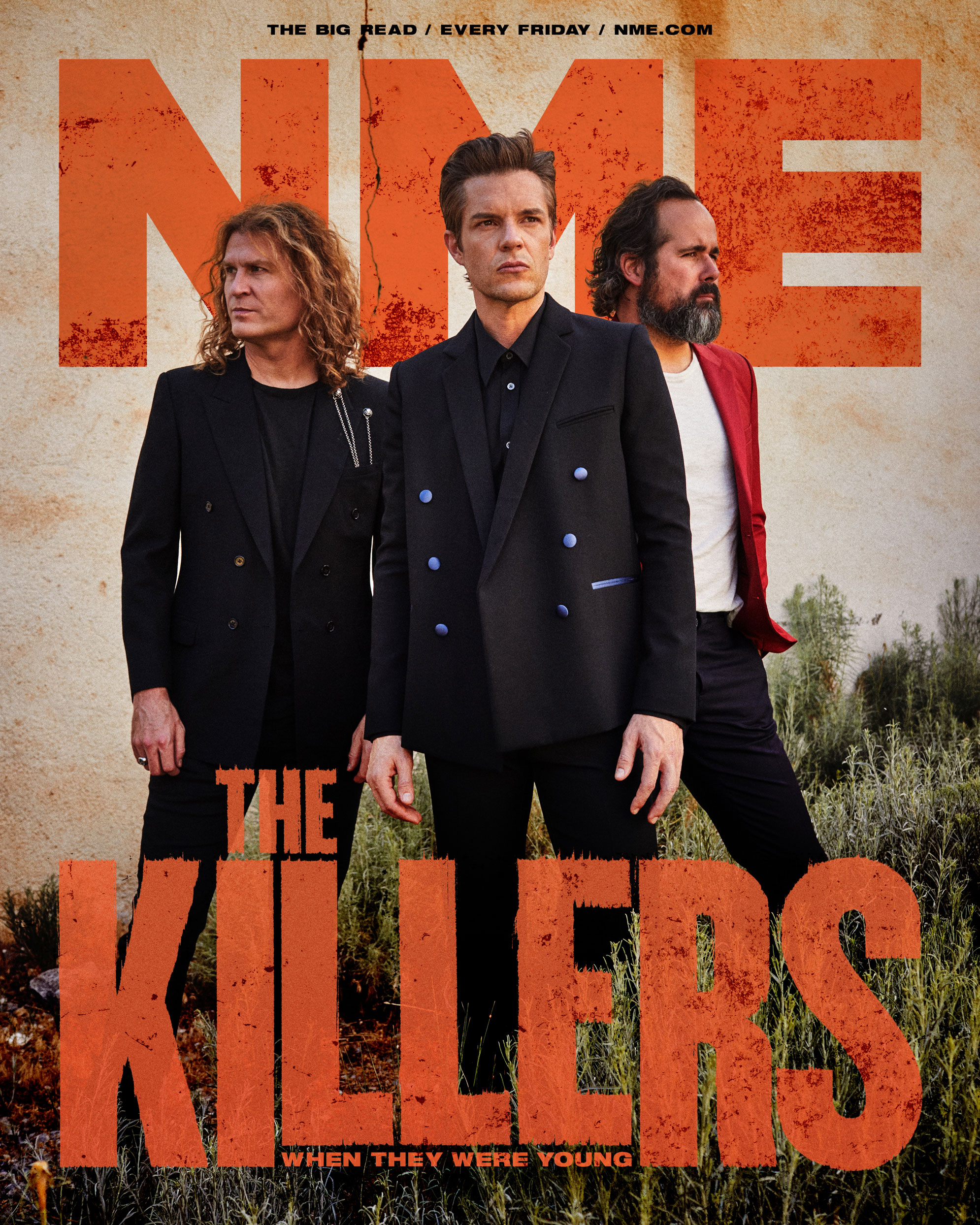 NME Cover 2021 The Killers