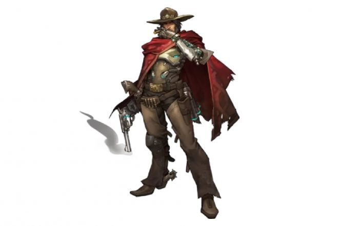 McCree in Overwatch