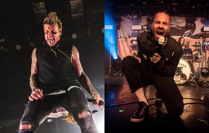 Papa Roach and Fever 333 collab