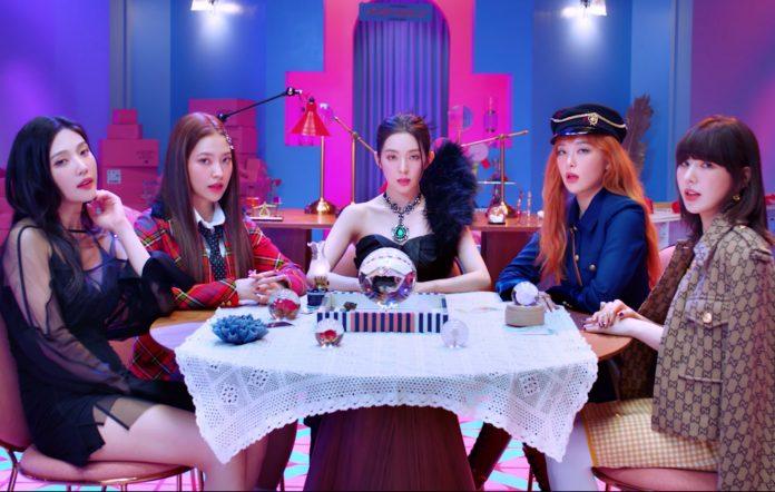 red velvet queendom music video mini album