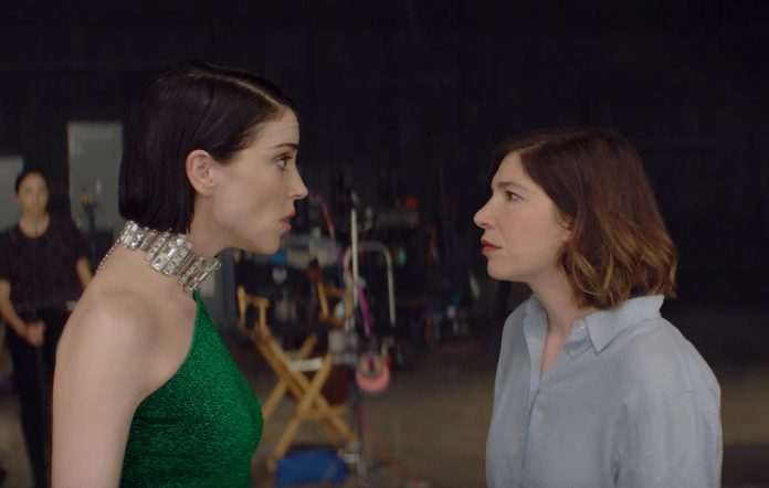 St Vincent's Annie Clark and Carrie Brownstein in 'The Nowhere Inn'