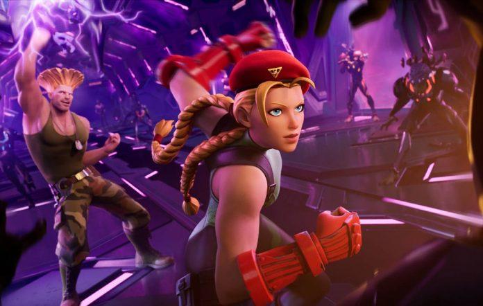 Street Fighter x Fortnite