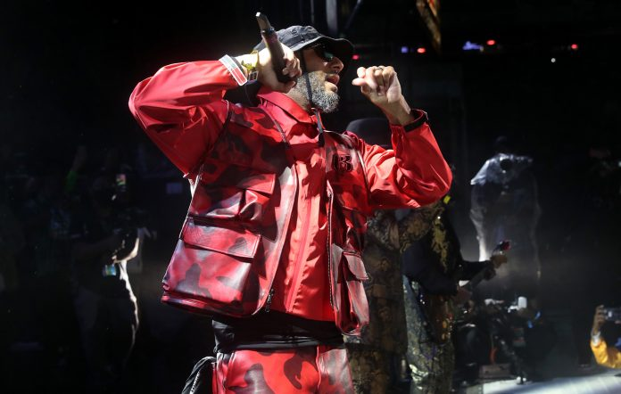 Swizz Beats performs onstage during Hot 97 Summer Jam 2021
