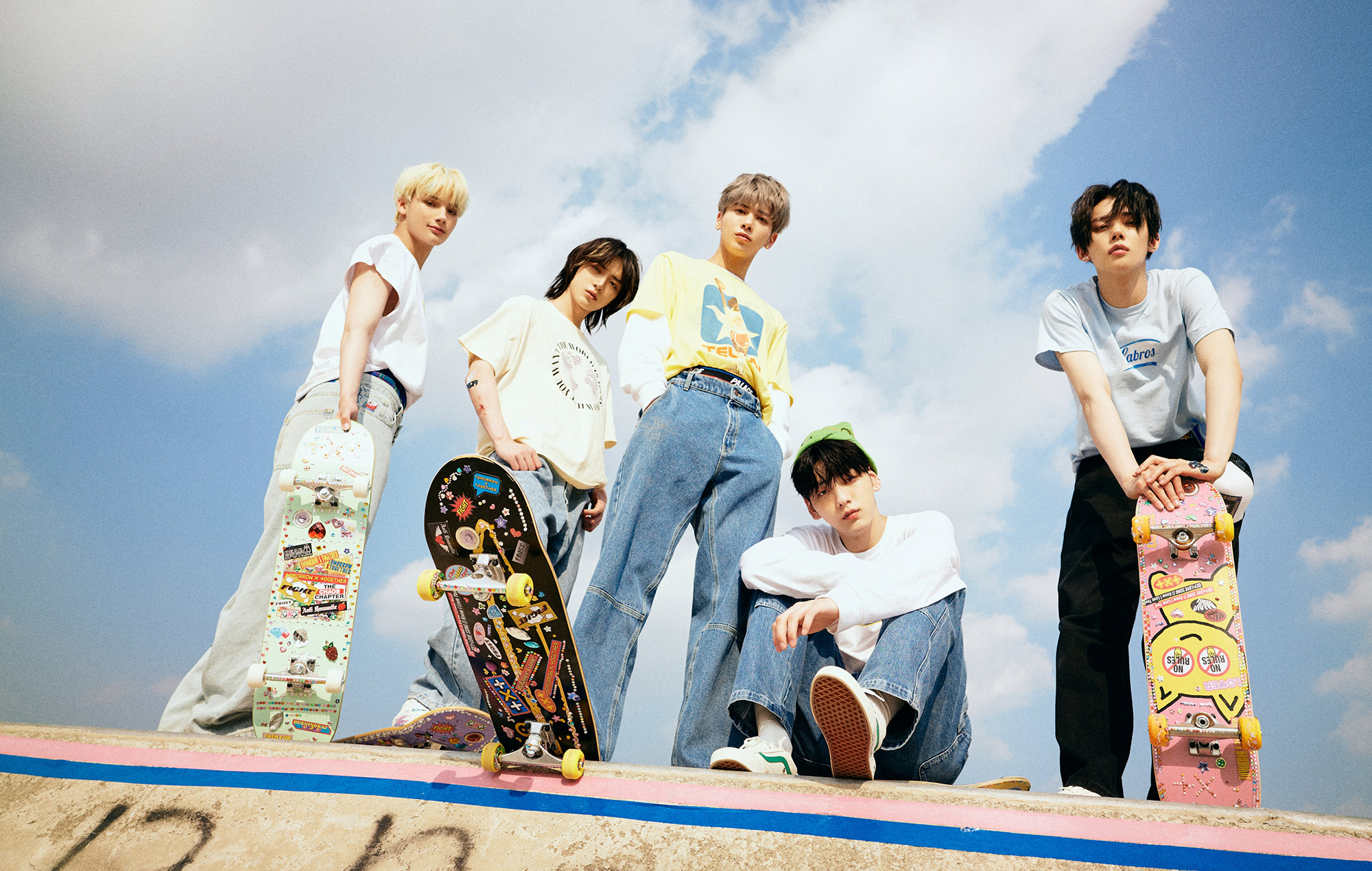 TXT are set to perform on 'The Late Show' later this week