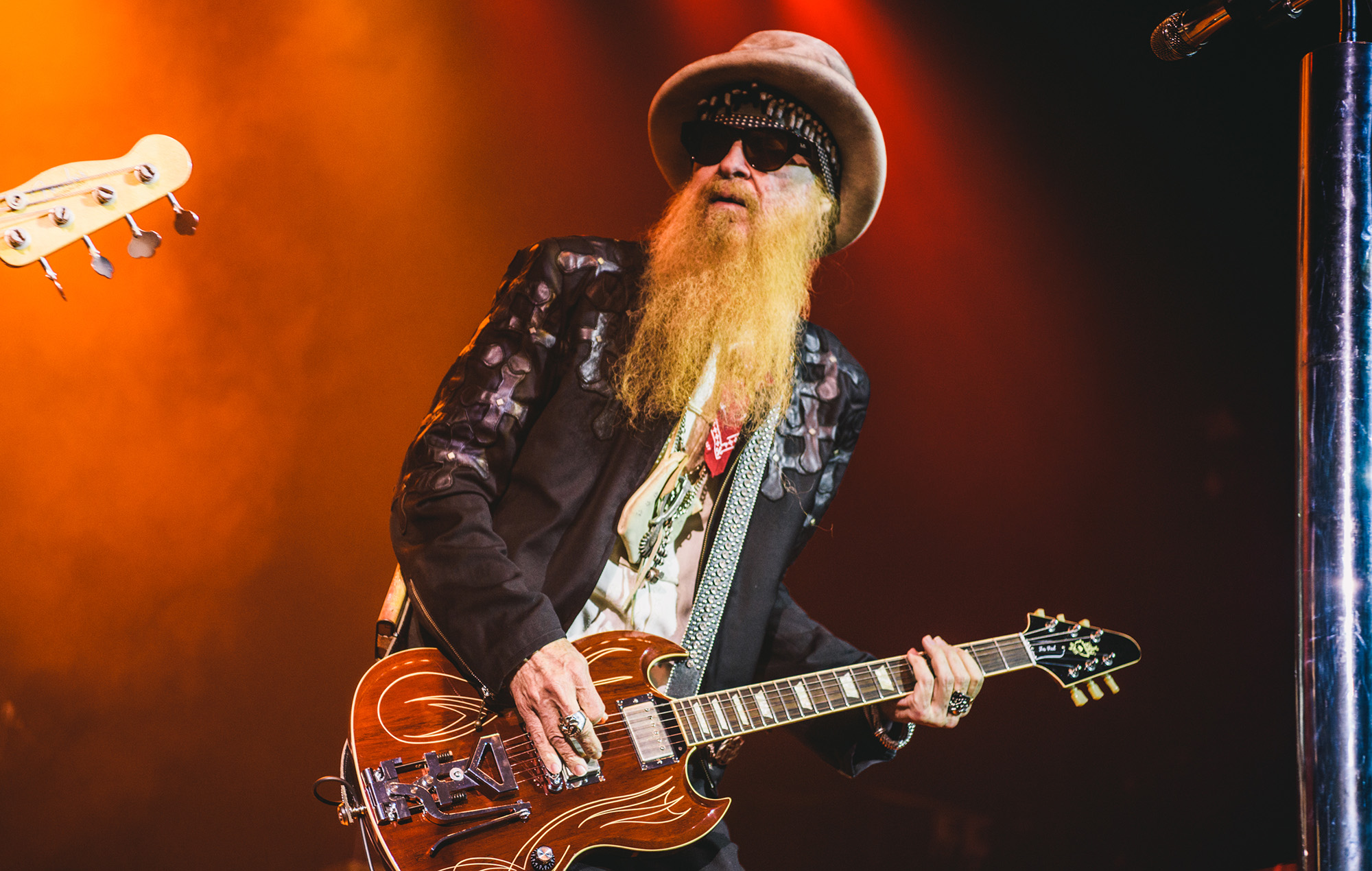ZZ Top performing in 2017