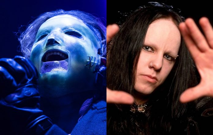 Slipknot's Corey Taylor and Joey Jordison
