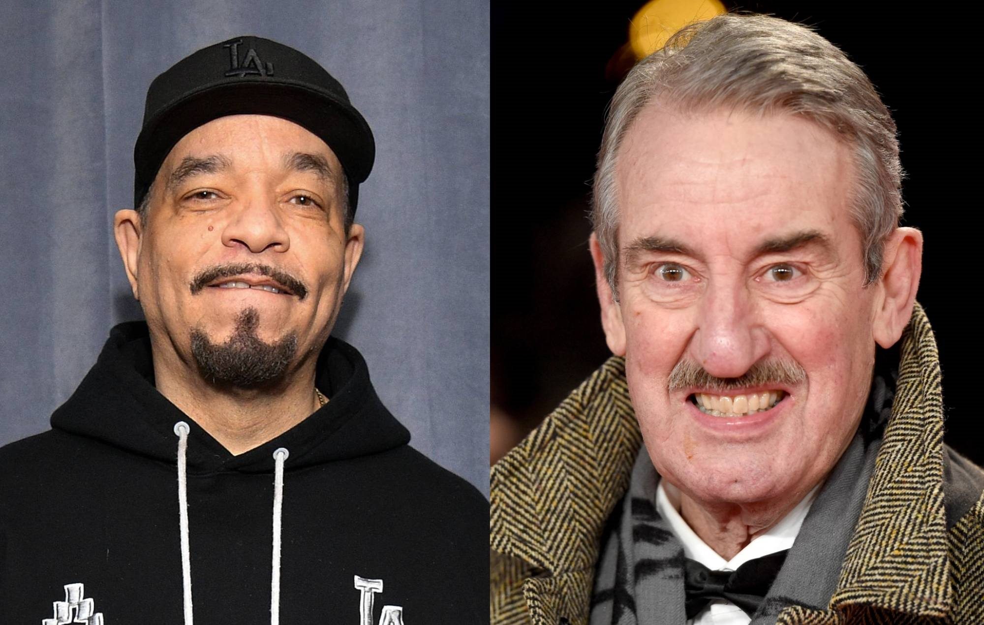"""Ice T pays tribute to his """"close internet friend"""" 'Only Fools & Horses' star John Challis"""
