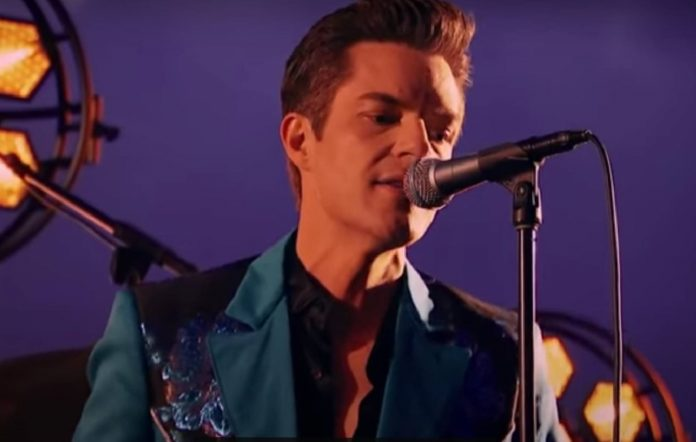 The Killers performing on 'Fallon'