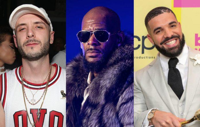 40, R. Kelly and Drake