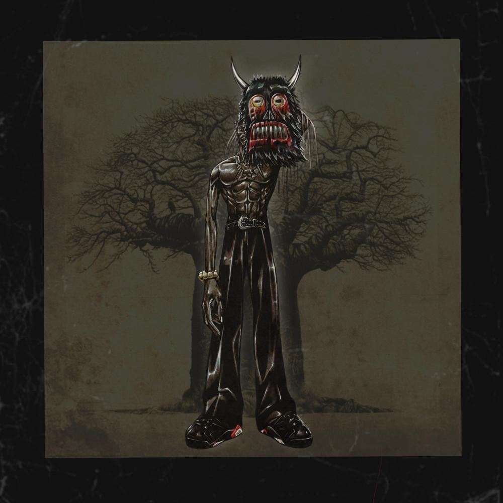 Pa Salieu - 'Afrikan Rebel' EP artwork