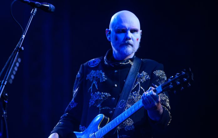 Billy Corgan of The Smashing Pumpkins. Credit: Daniel Boczarski/Getty Images