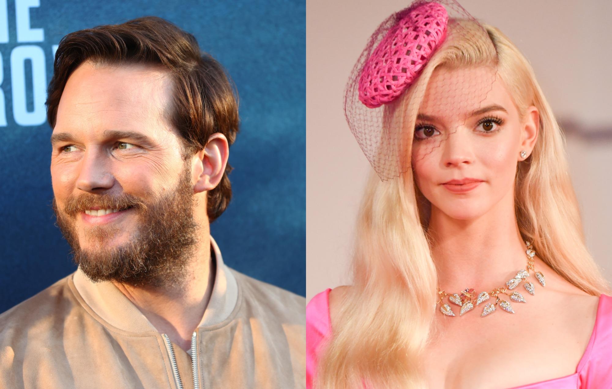 Chris Pratt, Anya Taylor-Joy lead voice cast for animated 'Super Mario Bros.' film - NME