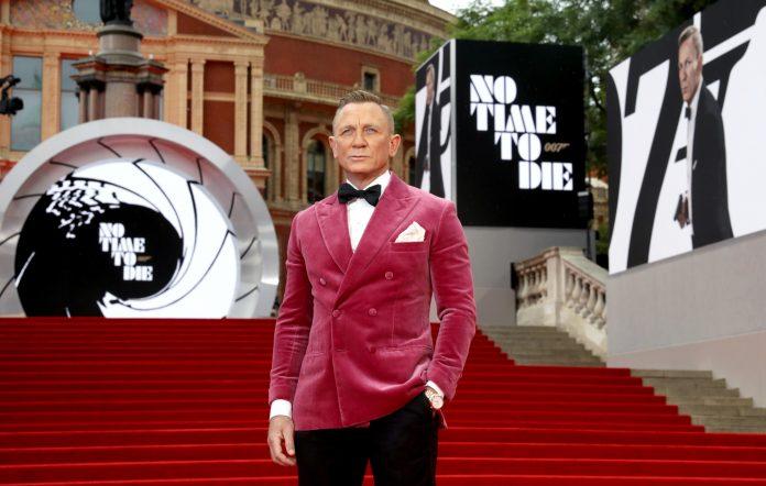 No Time To Die' premiere: Daniel Craig hits London for final Bond bow