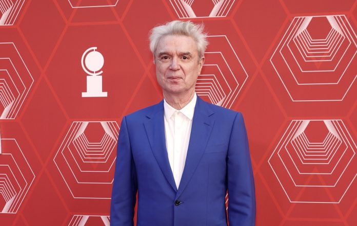 David Byrne attends the 74th Annual Tony Awards
