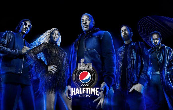 Dr. Dre, Snoop Dogg, Mary J. Blige, Eminem and Kendrick Lamar