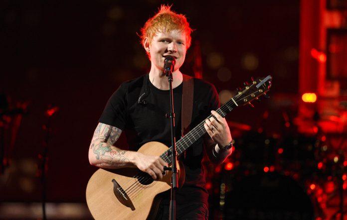 Ed Sheeran. Credit: Kevin Mazur/MTV VMAs 2021/Getty Images for MTV/ ViacomCBS