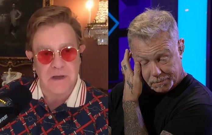 """Elton John calls Metallica's 'Nothing Else Matters' """"one of the best songs ever written""""Elton John calls Metallica's 'Nothing Else Matters' """"one of the best songs ever written"""""""