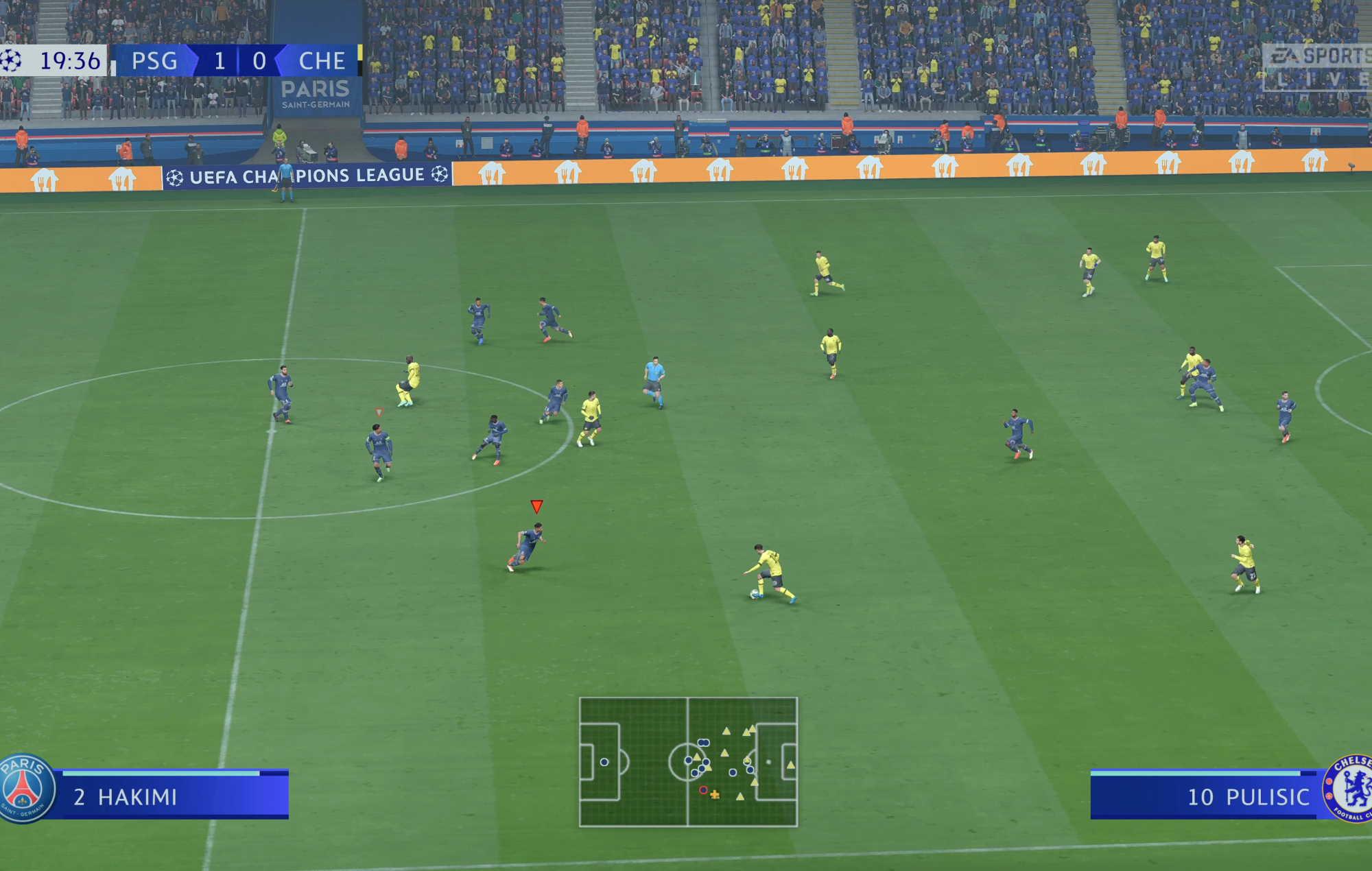 FIFA 22 PSG v Chelsea Champions League