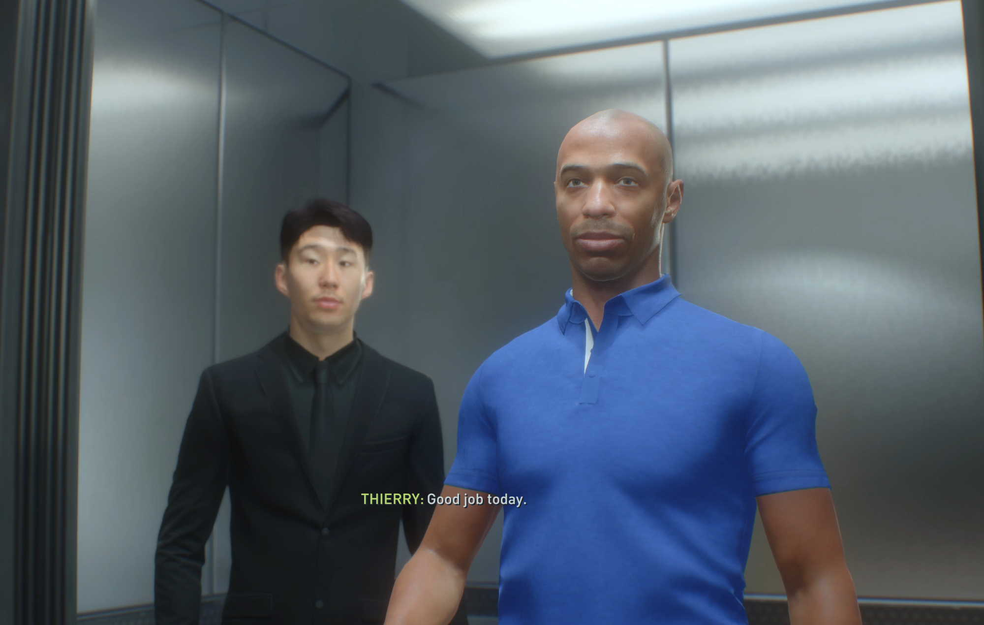 FIFA 22 Thierry Henry and Son